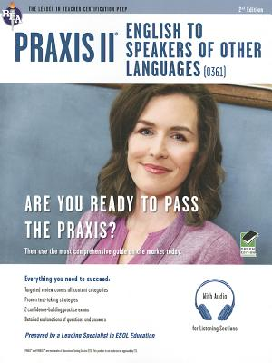 Praxis II English to Speakers of Other Languages + CD By Rosado, Luis A.